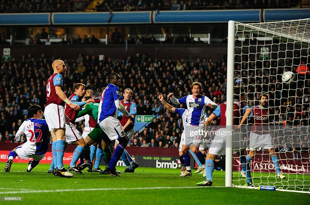 Aston Villa v Blackburn Rovers - Carling Cup Semi Final