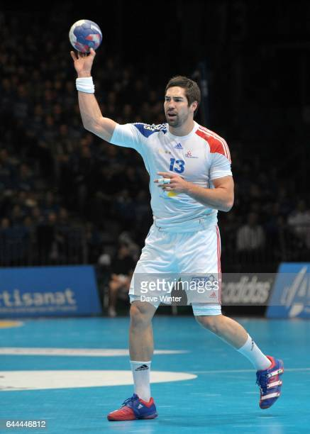Nikola KARABATIC - - France / Serbie - Match amical a Lievin-, Photo : Dave Winter / Icon Sport,