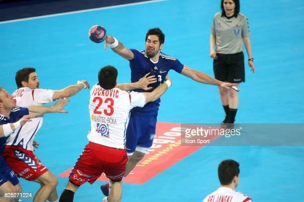Nikola KARABATIC - - France / Serbie - Match amical -Montpellier,