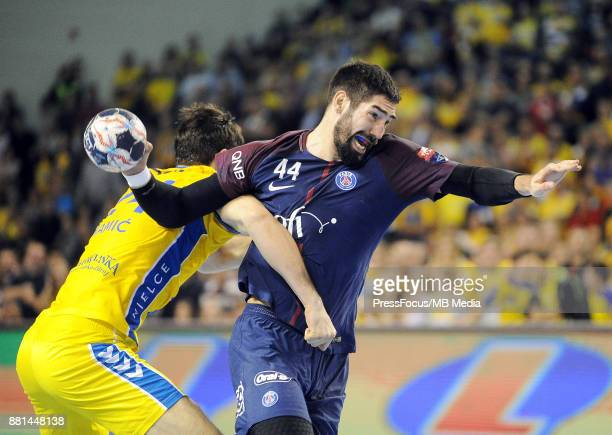 Nikola Karabatic during the EHF Men's Champions League Game between PGE Vive Kielce and PSG Handball on November 26 2017 in Kielce Poland