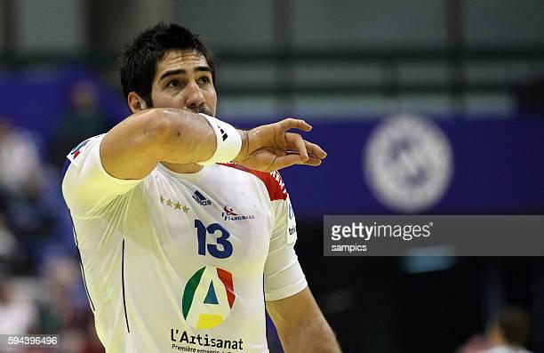 Nikola KARABATIC Handball Männer Europameisterschaft 2012 in Serbien Hauptrunde : Frankreich - Slowenien 10 th mens european championchip in Serbia...