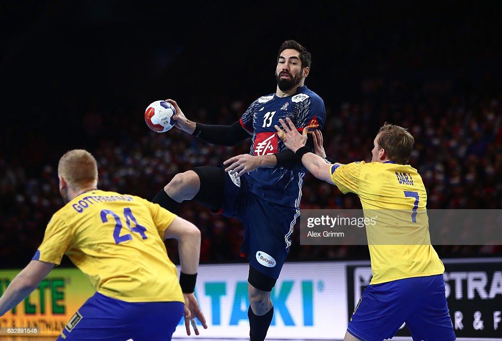 France v Sweden - 25th IHF Men's World Championship 2017 Quarter Final