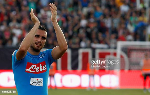 Nikola Maksimovic of Napoli during the Serie A match between FC Crotone and SSC Napoli at Stadio Comunale Ezio Scida on October 23 2016 in Crotone...
