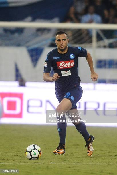 Nikola Maksimovic of SSC Napoli in action during the Serie A match between Spal and SSC Napoli at Stadio Paolo Mazza on September 23 2017 in Ferrara...