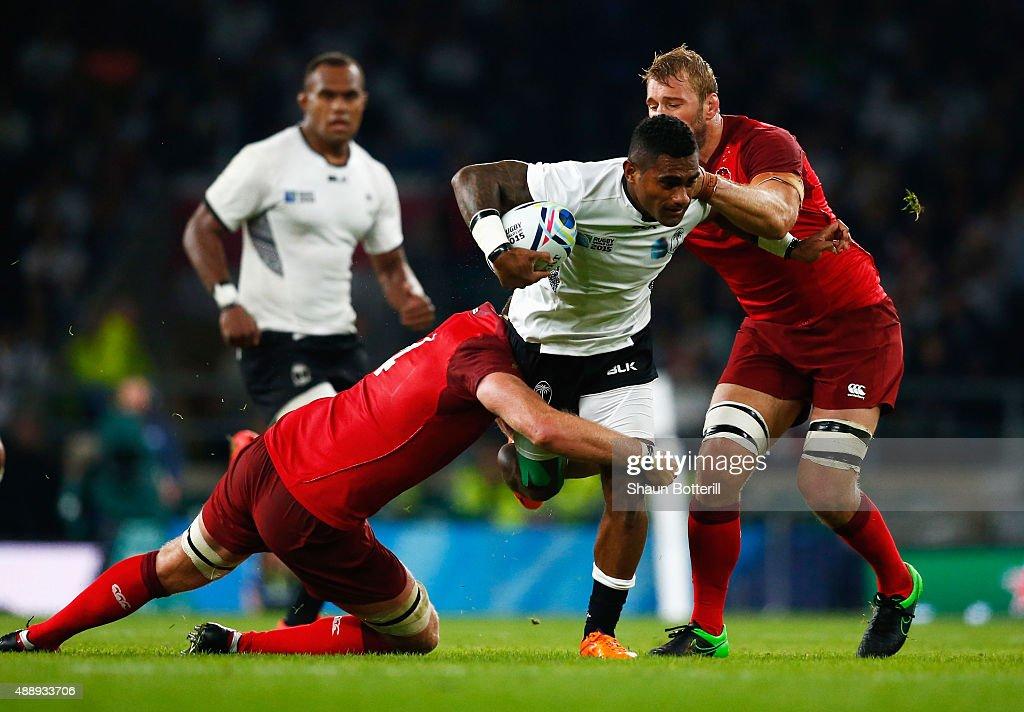 England v Fiji - Group A: Rugby World Cup 2015 : News Photo