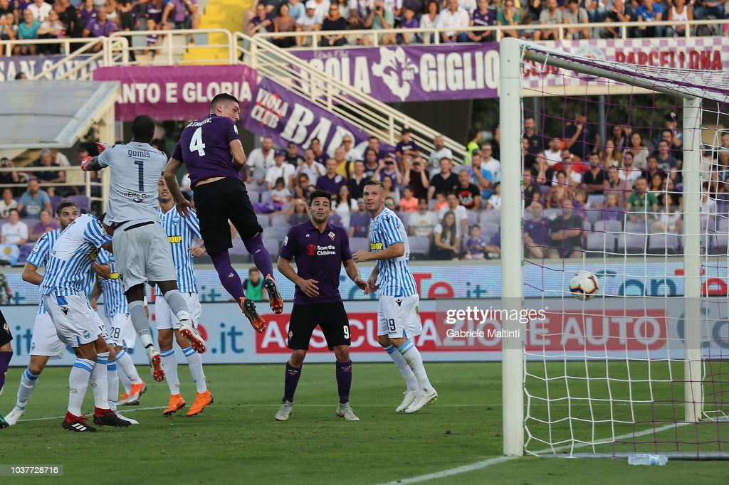 ACF Fiorentina v SPAL - Serie A : News Photo