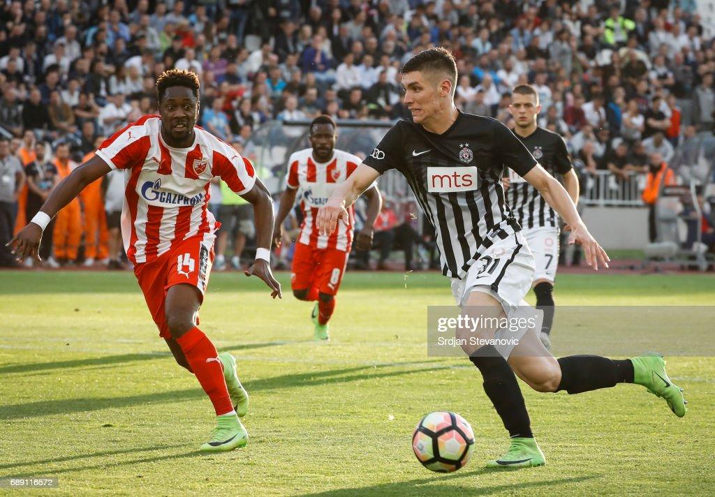 Fc Partizan v Fc Crvena Zvezda - Serbian Football Cup Final : Foto di attualità