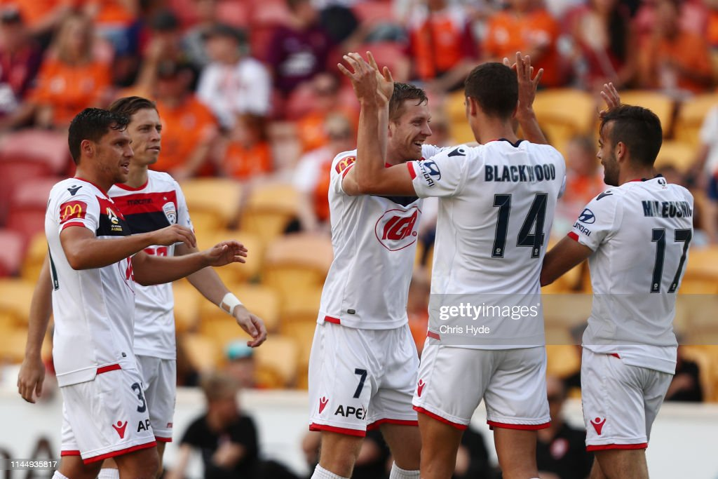 AUS: A-League Rd 27 - Brisbane v Adelaide