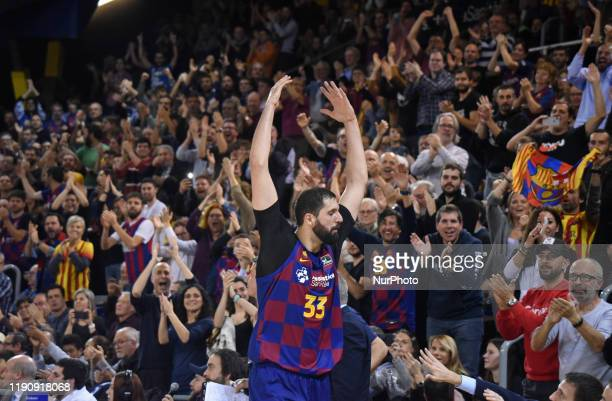 Nikola Mirotic during the match between FC Barcelona and Real Madrid, corresponding to the week 16 of the Liga ACB, played at the Palau Blaugrana on...