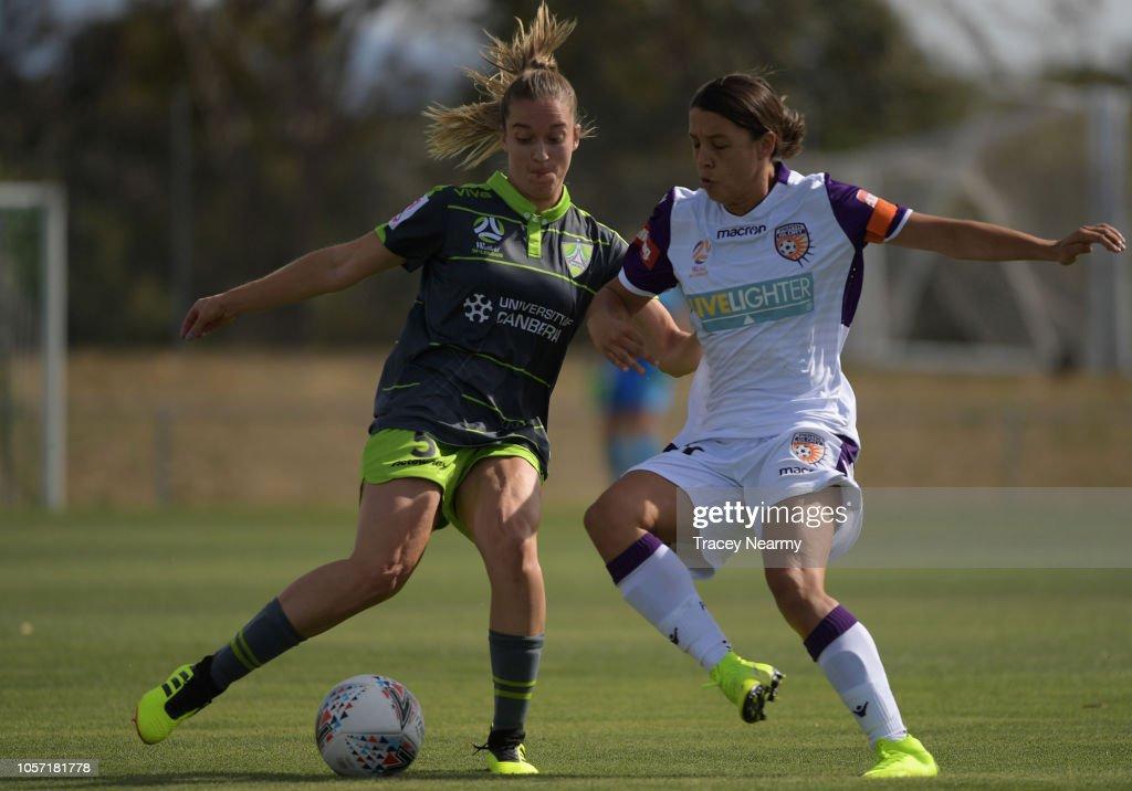 W-League Rd 2 - Canberra v Perth : News Photo