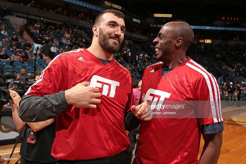 Charlotte Bobcats v Minnesota Timberwolves