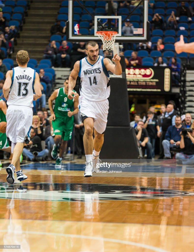 Maccabi Haifa v Minnesota Timberwolves