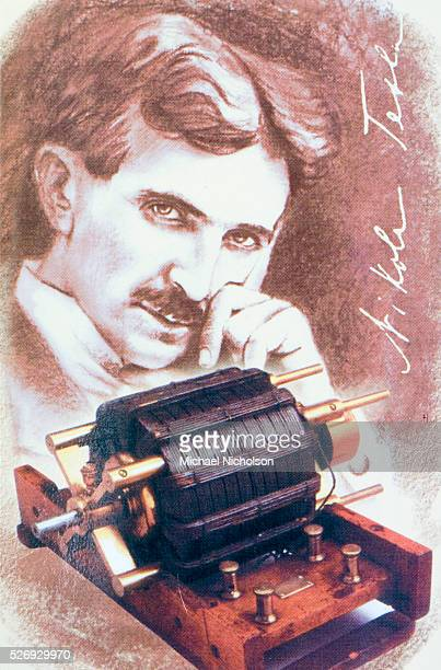Nikola Tesla shown with one of his electric inventions He is known for his revolutionary contribution to the field of electromagnetism and his many...