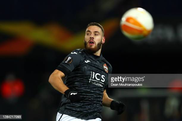 Nikola Vlasic of CSKA Moscow in action during the UEFA Europa League Group K stage match between Feyenoord and CSKA Moskva at De Kuip on November 05,...