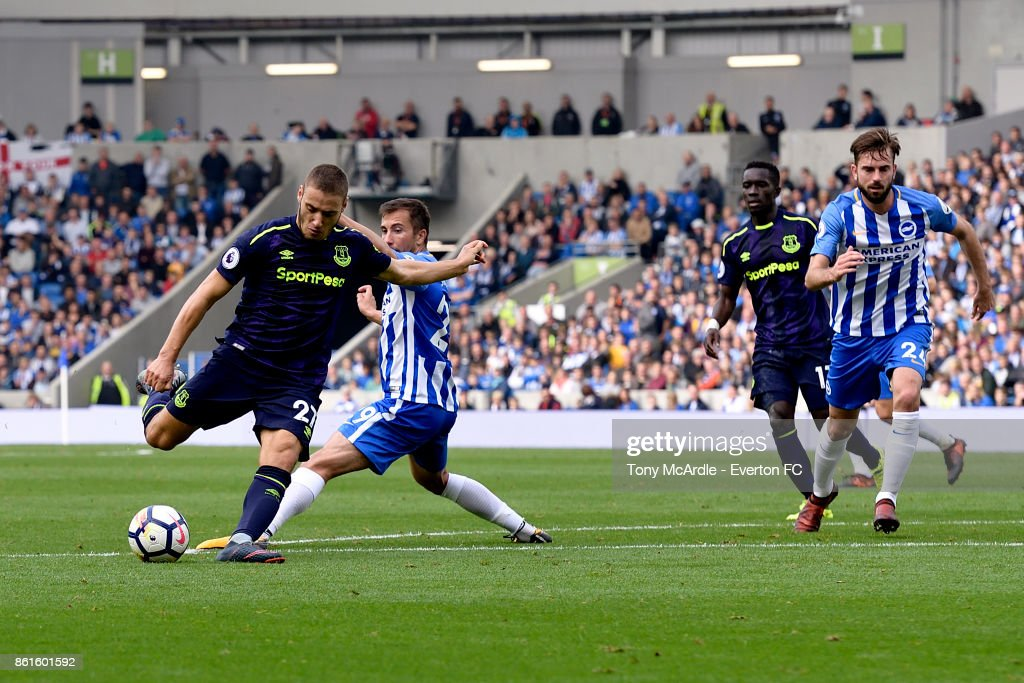 Brighton and Hove Albion v Everton - Premier League : News Photo