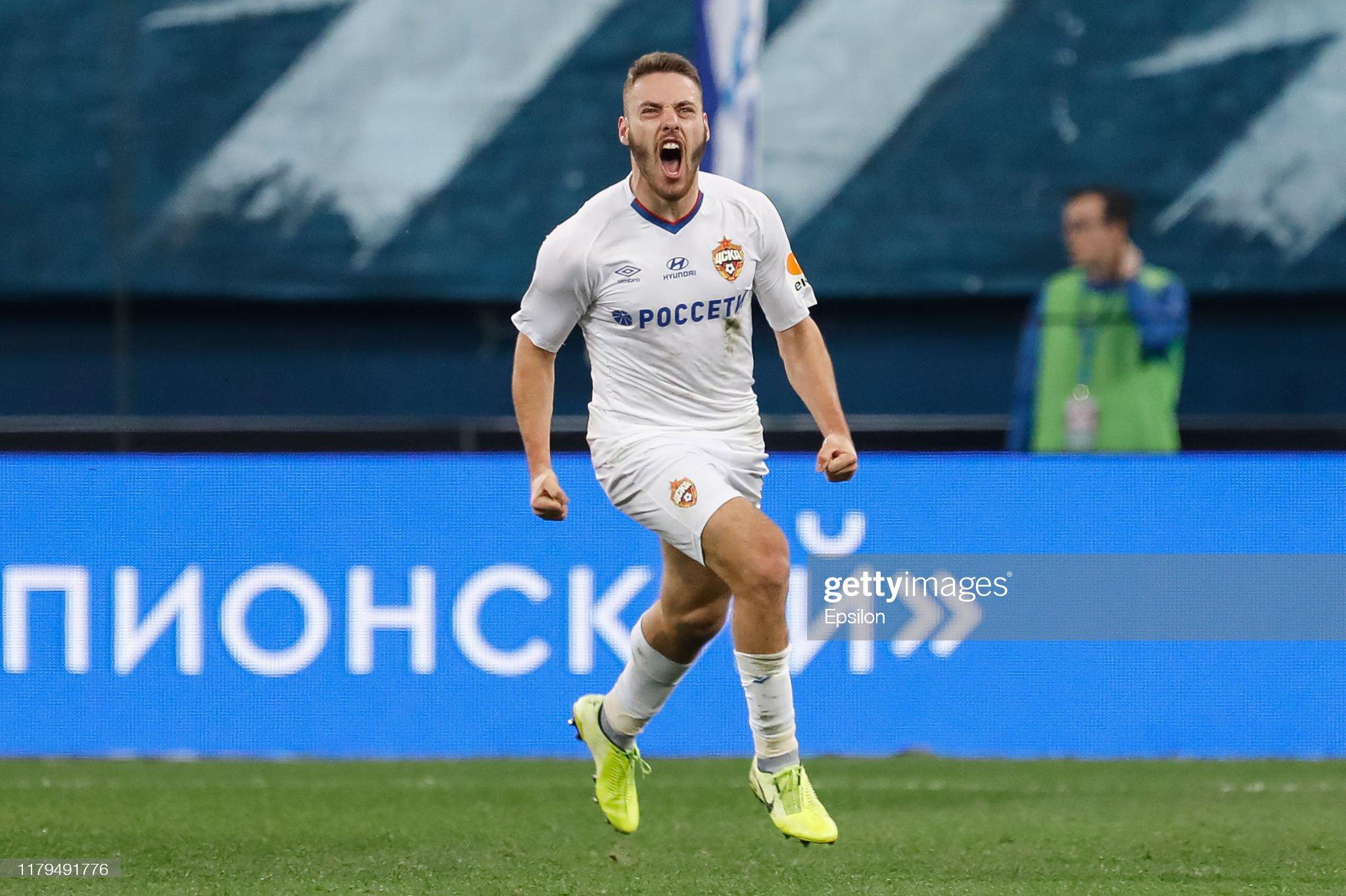 FC Zenit Saint Petersburg vs PFC CSKA Moscow - Russian Premier League : ニュース写真