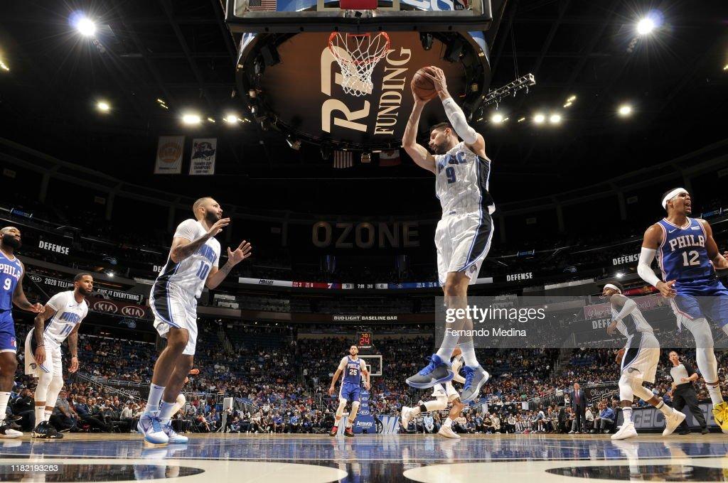 Philadelphia 76ers v Orlando Magic : News Photo