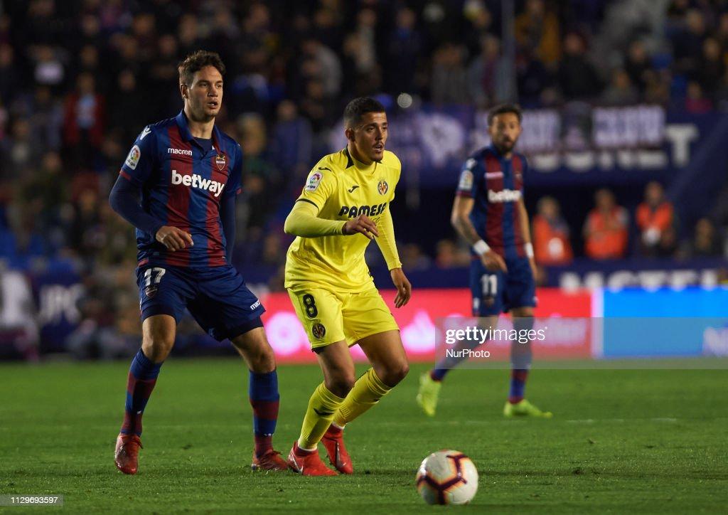 Levante v Villarreal - La Liga : News Photo