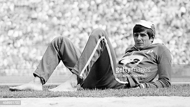 Nikolai Avilov of the Soviet Union gold medallist in the decathlon during the Summer Olympic Games in Munich circa September 1972