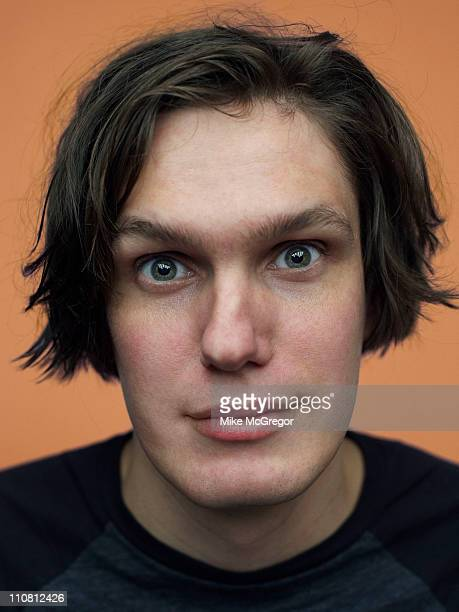 Nikolai Fraiture bassist for The Strokes is photographed for The Observer Magazine UK on February 9 2011 in New York City