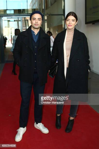 Nikolai Kinski and Anna Bederke attend the Hessian Reception during the 67th Berlinale International Film Festival Berlin at on February 14 2017 in...