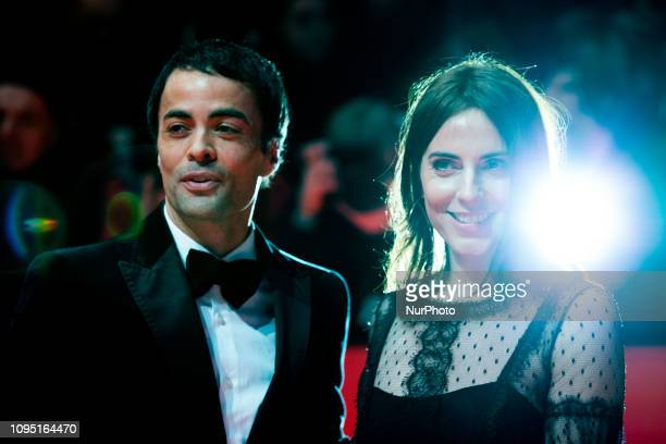 Nikolai Kinski and Antje Traue attends the 'The Kindness Of Strangers' Red Carpet at the 69th Berlinale International Film Festival Berlin on...
