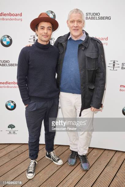 Nikolai Kinski and CEO Traumfabrik Babelsberg GmbH Christoph Fisser attend the Studio Babelsberg Brunch on the occasion of the German Film Award at...
