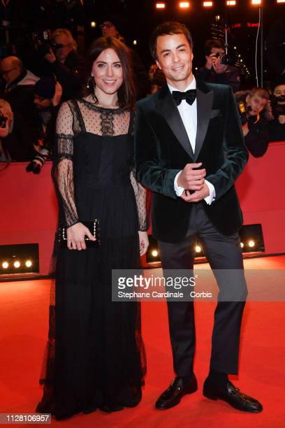 Nikolai Kinski and Ina Paule Klink attend the The Kindness Of Strangers premiere during the 69th Berlinale International Film Festival Berlin at...