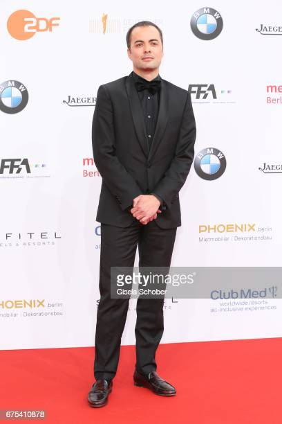 Nikolai Kinski during the Lola - German Film Award red carpet arrivals at Messe Berlin on April 28, 2017 in Berlin, Germany.