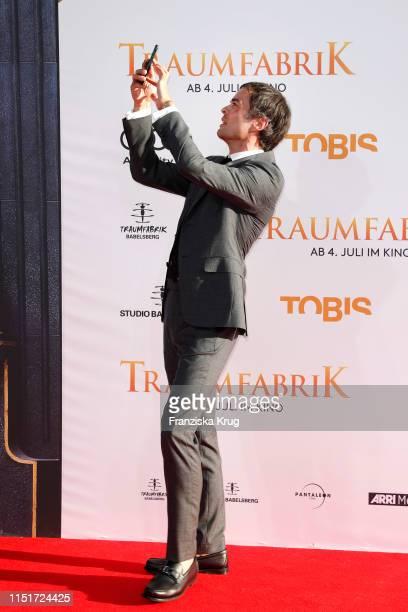 """Nikolai Kinski during the """"Traumfabrik"""" Movie Premiere on June 24, 2019 in Berlin, Germany."""