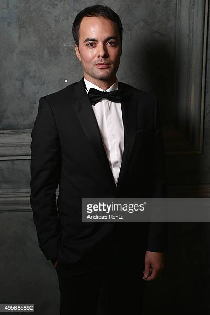 Nikolai Kinski is seen backstage at the GQ Men of the year Award 2015 at Komische Oper on November 5 2015 in Berlin Germany