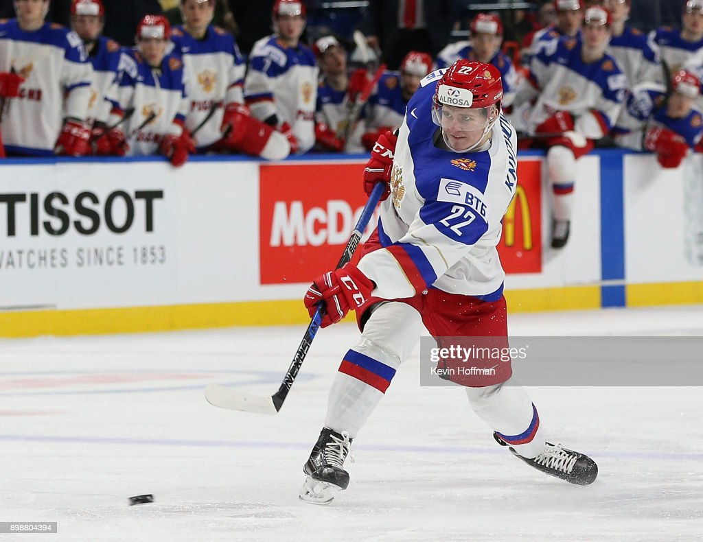 Czech Republic v Russia - 2018 IIHF World Junior Championship : News Photo