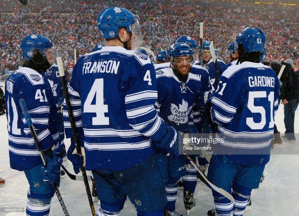 2014 Bridgestone NHL Winter Classic - Toronto Maple Leafs v Detroit Red Wings