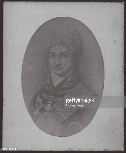 Nikolai Petrovich Rezanov ca 1806 From a private collection
