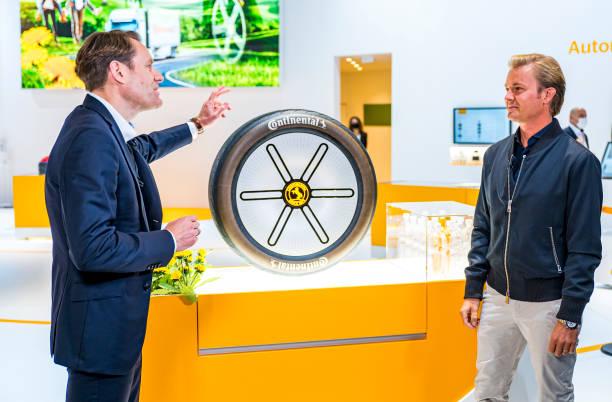 "DEU: Continental Presents Sustainable Tire Concept ""Conti GreenConcept"" At IAA Munich"