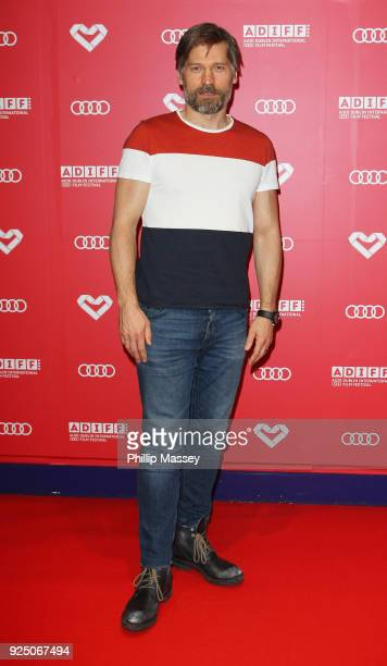 Nikolaj CosterWaldau appears at the creening Of '3 Things' as part of the Audi Dublin International Film Festiva at Cineworld on February 27 2018 in...