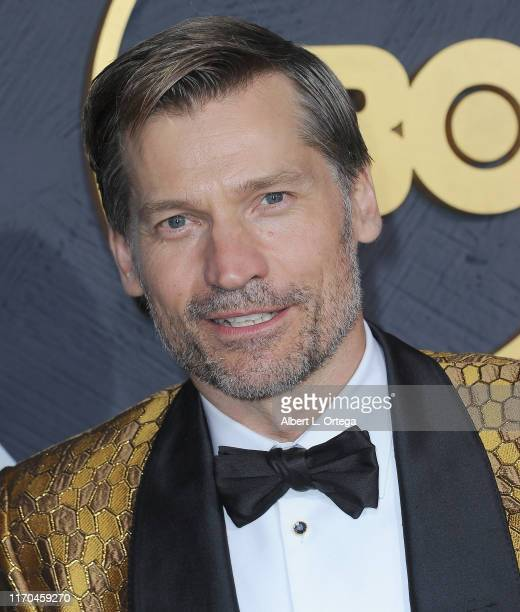 Nikolaj Coster-Waldau arrives for the HBO's Post Emmy Awards Reception held at The Plaza at the Pacific Design Center on September 22, 2019 in West...