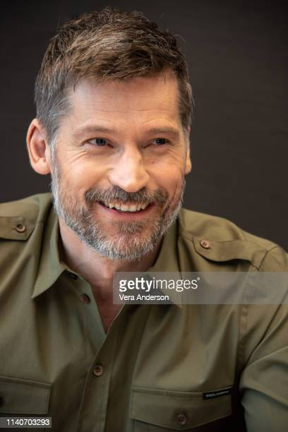"Nikolaj Coster-Waldau at the ""Game Of Thrones"" Press Conference at the Mandarin Oriental Hotel on April 04, 2019 in New York City."