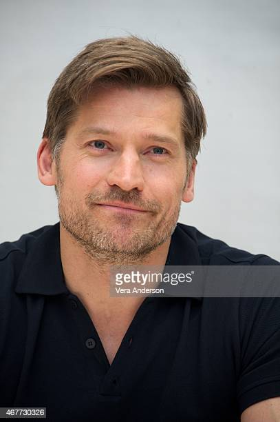 Nikolaj CosterWaldau at the 'Game Of Thrones' Press Conference at the Four Seasons Hotel on March 25 2015 in Beverly Hills California