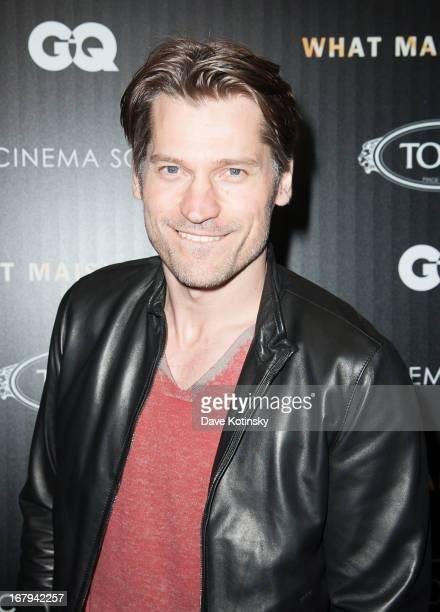 "Nikolaj Coster-Waldau attends a screening hosted by The Cinema Society With Tod's & GQ of Millennium Entertainment's ""What Maisie Knew"" presented by..."