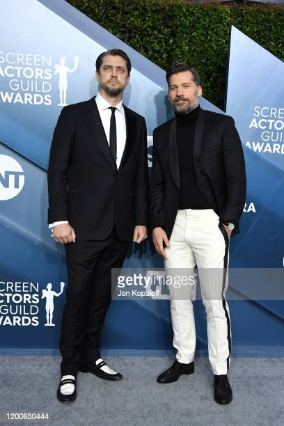 Nikolaj Coster-Waldau attends the 26th Annual Screen Actors Guild Awards at The Shrine Auditorium on January 19, 2020 in Los Angeles, California.
