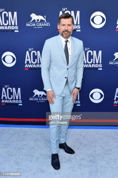 Nikolaj Coster-Waldau attends the 54th Academy Of Country Music Awards at MGM Grand Hotel & Casino on April 07, 2019 in Las Vegas, Nevada.