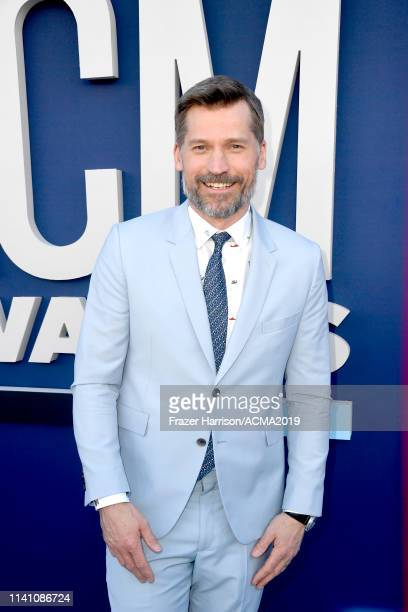 Nikolaj Coster-Waldau attends the 54th Academy Of Country Music Awards at MGM Grand Garden Arena on April 07, 2019 in Las Vegas, Nevada.