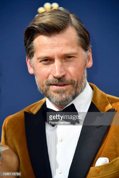 Nikolaj Coster-Waldau attends the 70th Emmy Awards at Microsoft Theater on September 17, 2018 in Los Angeles, California.