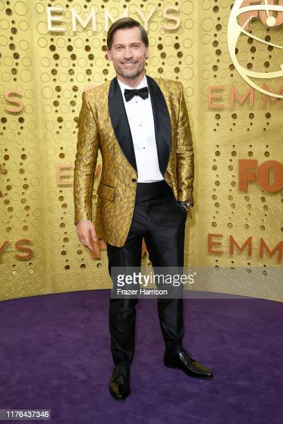 Nikolaj Coster-Waldau attends the 71st Emmy Awards at Microsoft Theater on September 22, 2019 in Los Angeles, California.