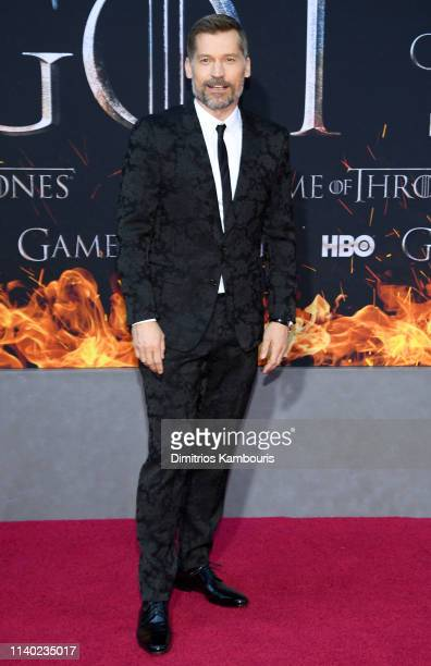 Nikolaj CosterWaldau attends the Game Of Thrones Season 8 Premiere on April 03 2019 in New York City