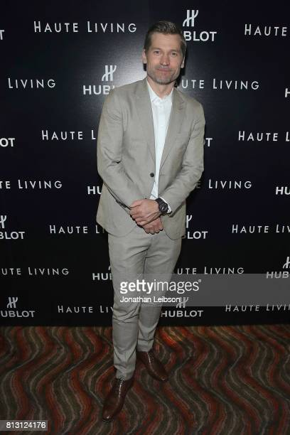 Nikolaj CosterWaldau attends the Haute Living Celebrates Nikolaj CosterWaldau At Doheny Room With Hublot at Doheny Room on July 11 2017 in West...