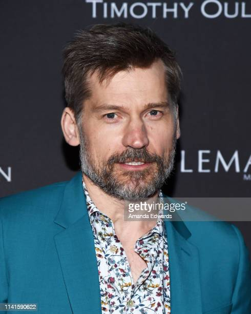 Nikolaj Coster-Waldau attends the launch celebration of Nobleman Magazine's Issue at Timothy Oulton Los Angeles Showroom on April 09, 2019 in Los...