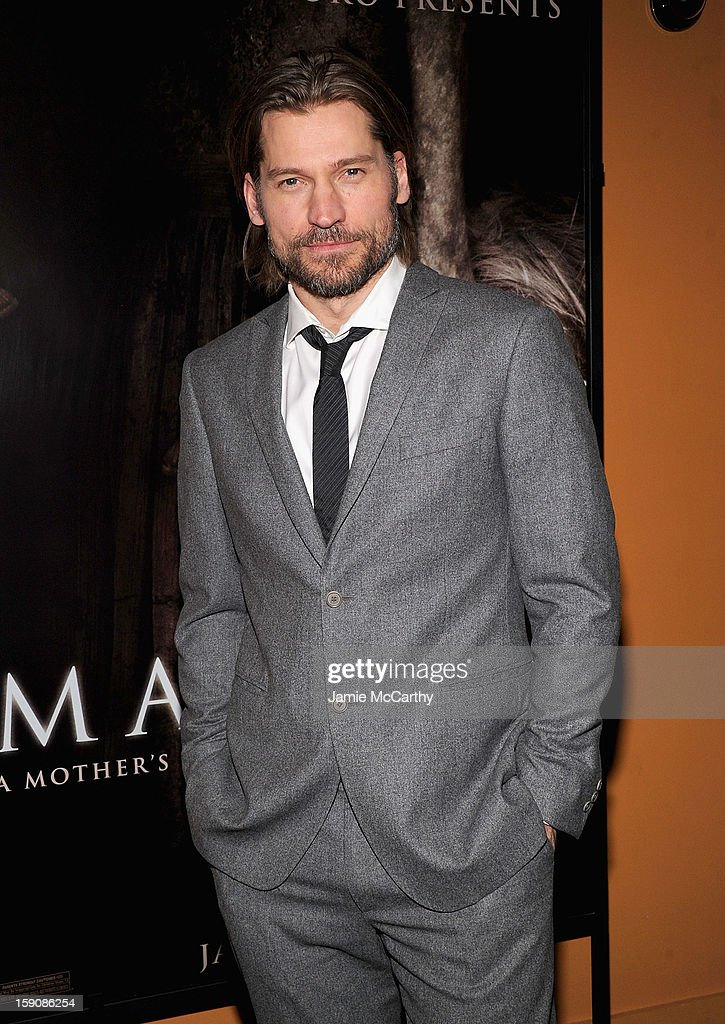 Nikolaj Coster-Waldau attends the 'Mama' New York Screening at Landmark's Sunshine Cinema on January 7, 2013 in New York City.