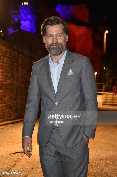 Nikolaj CosterWaldau attends the red carpet of the closing night of the Taormina Film Festival on July 19 2020 in Taormina Italy